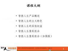 平安人寿智胜人生基础知识(45页)