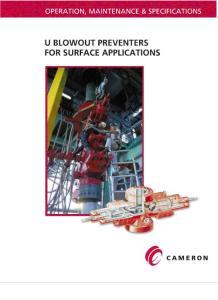 卡麦隆闸板防喷器中文版BOP操作维修和技术规格