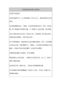 首都的符号之北京四合院、胡同、传统民居相关介绍