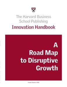 Innovation - Innovation Handbook - Harvard Business School - Ed 2005 Pp 75