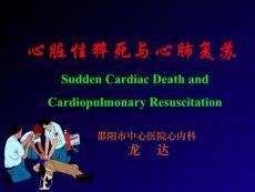 【医学PPT课件】心脏性猝死与心肺复苏