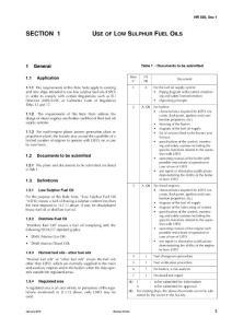 NR559 Use of low sulphur fuel oils