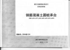 2004浙G24(钢筋混凝土圆桩承台)