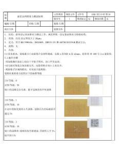 zga喷塑件表面附着力测试标准zwc