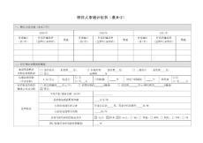 特许人市场计划书(表B-2)