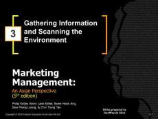 Marketing Management_Peason_Kolter_5th Edition_PPT