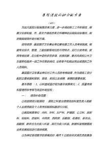 乡镇医院绩效工资分配方案【薪酬管理类】