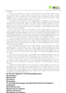 2012年英语专八(TEM8)考试备考冲刺阅读精选题(7)