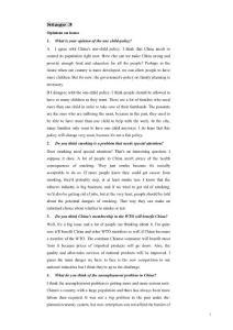 雅思口語第三階段問題與答案