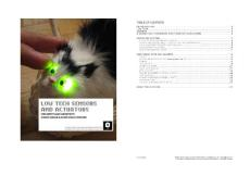 arduino low tech sensors and actuators