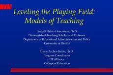 Instructional strategies (Models of Teaching)