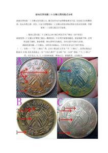 湖南民国双旗二十文铜元版式研究【收藏必备资料】