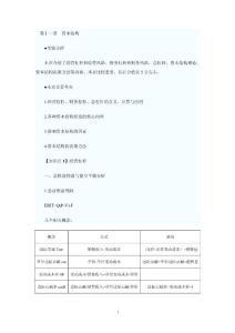 2011注册会计师考试财务成本管理预习讲义(11-18章)