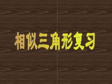 相似三角形(中考專題復習).ppt