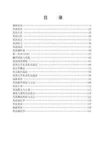 高职高专公共英语课程大纲