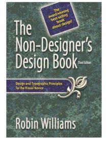The Non-Designer´s Design Book  3rd Edition - Williams  Robin