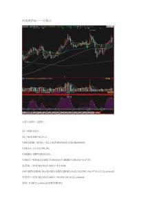 股票 选股公式 同花顺指标——火焰山