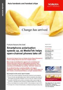 野村证券手机和手机芯片行业最新研究201208