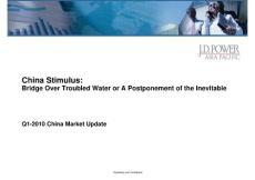 JD Power China Automotive Market