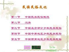 中国民族民俗