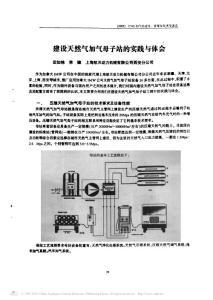 建设天然气加气母子站的实践与体会