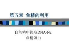 第五章鱼精的利用自鱼精中提取DNA-Na