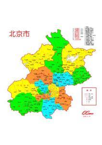 北京市地图 北京市电子地图