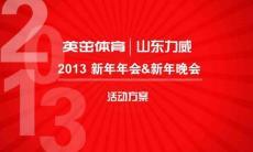 2013年力威公司新春年会晚会方案