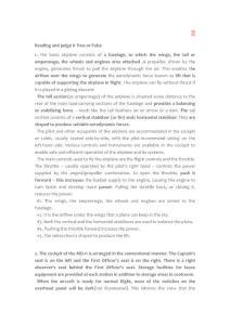飞行英语阅读选择题(节选)