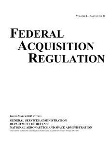 美国--联邦采购条例