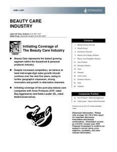 [下载]精品资料:全球美容护肤行业研究报告