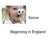 English Soccer 英式足球