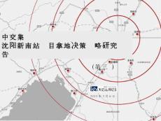 中交集团沈阳新南站项目拿地决策战略研究报告101P