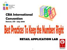 Physical Inventory - Best Practices to Keep the - Trinitygroupbiz