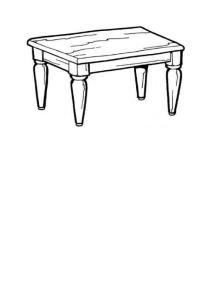 桌子图案素材