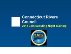 2013 Unit JSN Chair Training - Connecticut Rivers Council