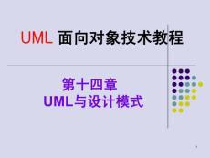 2012-2013 第二学期 11本 UML 第十四章 UML模式设计