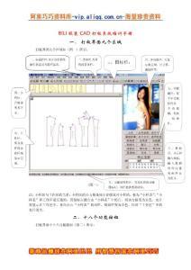 BILI服装CAD打板系统培训手册(DOC 27)