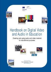 Handbook on Digital Video and Audio in Education