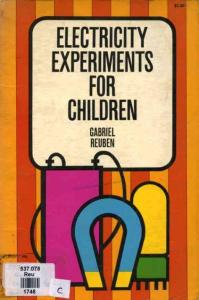 儿童趣味电力实验 Electricity Experiments for Children