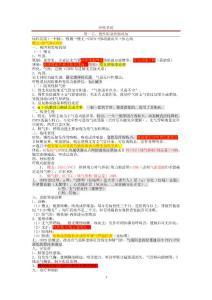 2013年大苗笔记—内外科