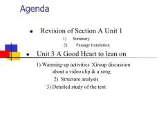 [英语学习]新视野大学英语第一册第三单元课件