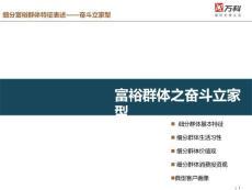 万科2012中国富裕群体消费行为和投资偏好研究报告第二部分