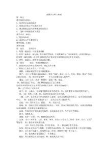 高级汉语听力教案