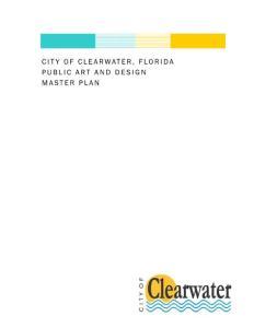公共艺术和设计的总体规划 Public Art and Design master plan