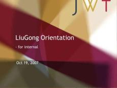柳工的国际品牌定位——绝对超值资料JWT出品