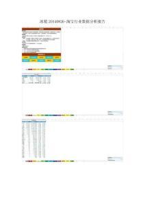 冰箱20140826-淘宝行业数据..
