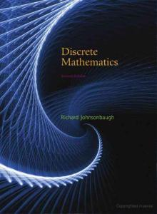 Discrete Mathematics 7th Edition