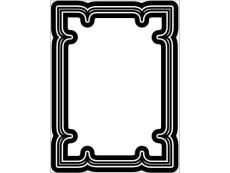 矢量素材 -相框边框