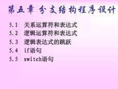 谢丽聪-5分支结构程序(1)-2007